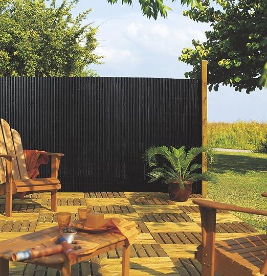 Cañizo sintetico 1/2 caña 1,0 x 3 mt verde: Amazon.es: Jardín