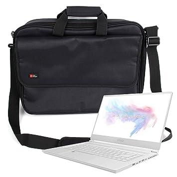 DURAGADGET Maletín Negro para Portátil MSI P65 Creator 8RD, MSI P65 Creator 8RE, MSI P65 Creator 8RF (White Limited Edition): Amazon.es: Electrónica