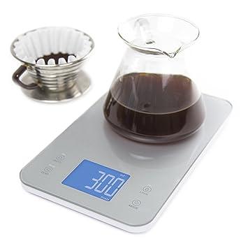 Greater Goods Nourish Digital Kitchen Food Scale + Timer - Ultra ...