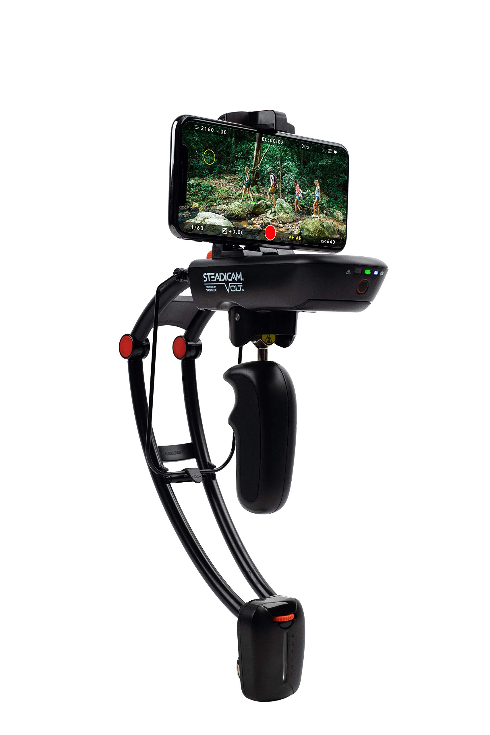 Steadicam Volt electronic handheld gimbal stabilizer for ALL iPhone XS, XS Max & XR ,ALL Samsung S9/S9+ & GoPro HERO by SteadiCam