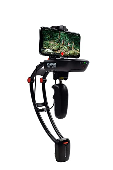 the latest 6e02a 7781e Steadicam Volt electronic handheld gimbal stabilizer for ALL iPhone XS, XS  Max & XR ,ALL Samsung S9/S9+ & GoPro HERO
