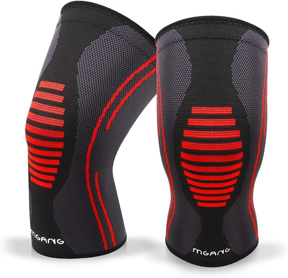 1 Pair VOGUE CODE Athletics Knee Compression Sleeve Knee Support Brace