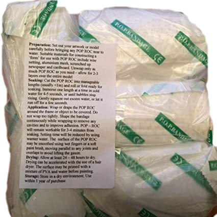 """14  for  $57   FREE SHIPPING! PLASTER of PARIS CASTING CLOTH 6 /"""" rolls"""