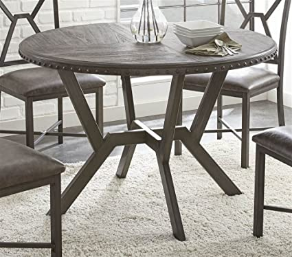 Image Unavailable Not Available For Color Steve Silver Company AL450T Dining Table
