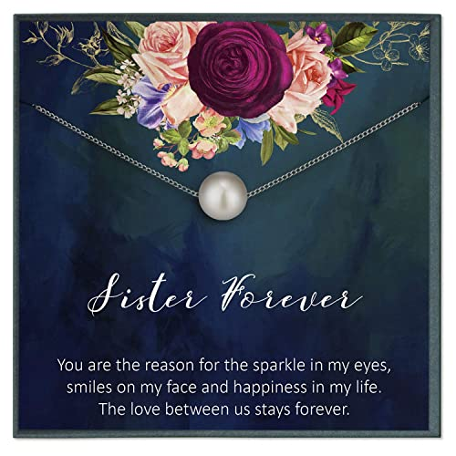 Amazon.com: 2 Sister Gifts from Sister Quotes Jewelry for ...