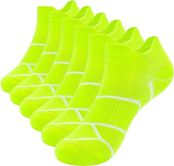 Ueither Low Cut Calcetines de Algod/ón para Hombre y Mujer Calcetines Deportivos Corto Malla Transpirable