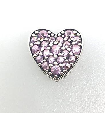 pandora charm pink heart