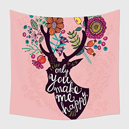 Amazon.com: Home Decor Tapestry Wall Hanging Lovely Vector ...