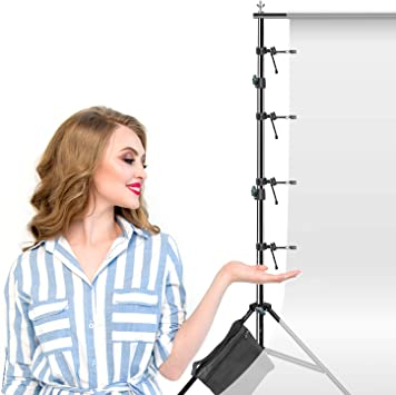 Multi-Functional LimoStudio Helps Tighten Background More Strainedly Photography Video Studio Backdrop Muslin String Holder AGG1393 8PACK