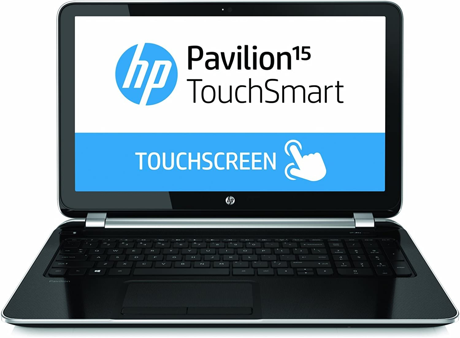 HP Pavilion TouchSmart 15-n020us 15.6-Inch Touchscreen Laptop (2 GHz AMD Quad-Core A6-5200 Processor, 4GB DDR3L, 750GB HDD, Windows 8) Black/Silver