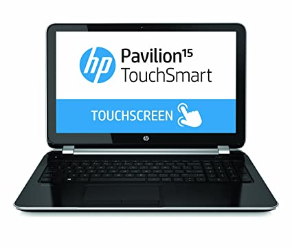 HP Pavilion TouchSmart 15-n040us 15 6-Inch Touchscreen Laptop (1 7 GHz  Intel Core i3-4005U Processor, 4GB DIMM, 750GB HDD, Windows 8) Black/Silver