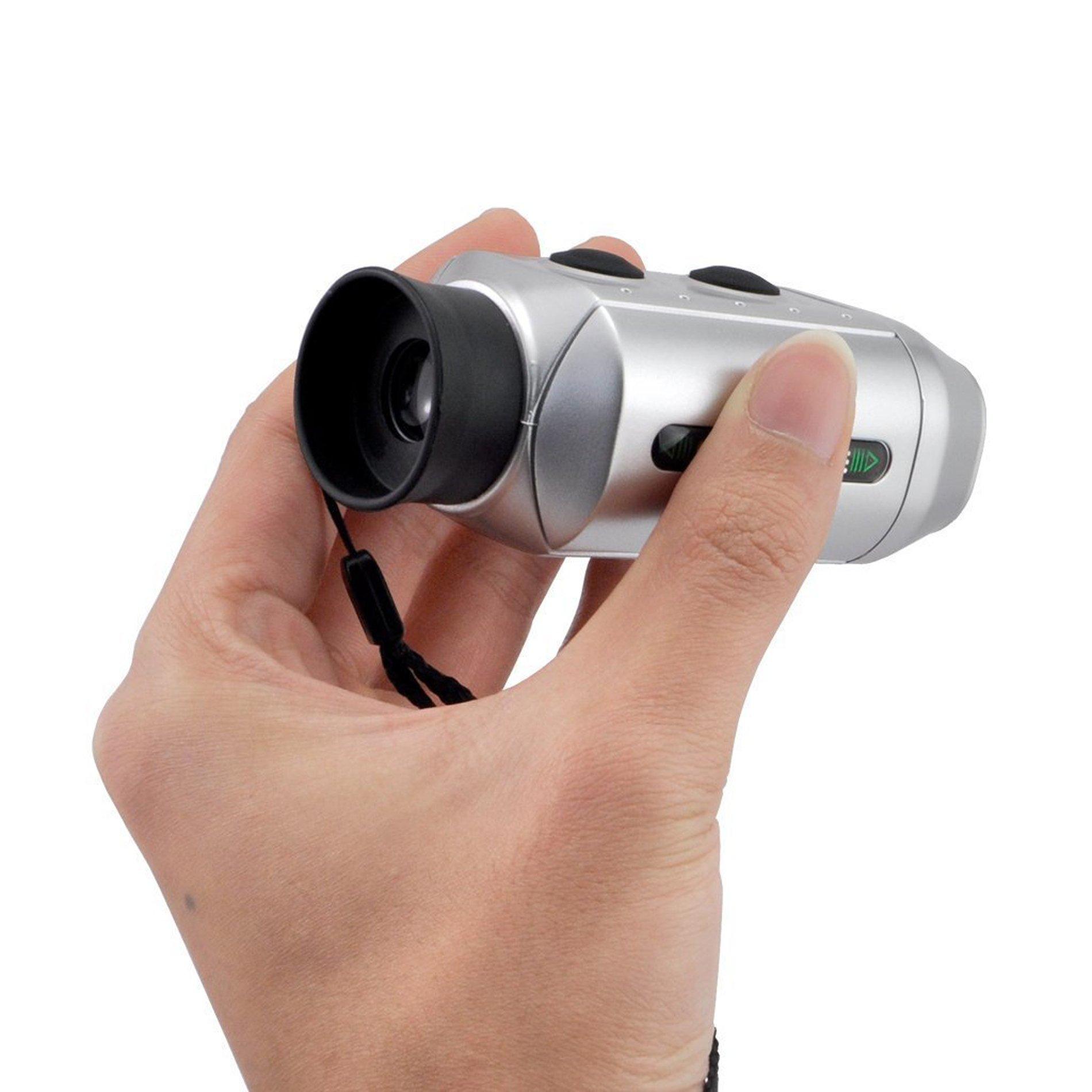 POSMA GF200 Golf Rangefinder Scope Digital Pocket 7x Zoom Golf Range Finder Magnification Distance Measurer by IDS Home (Image #7)