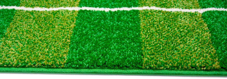 CARPETIA Alfombra los ni/ños Alfombra del Juego de f/útbol Verde Gr/ö/ße 120x170 cm