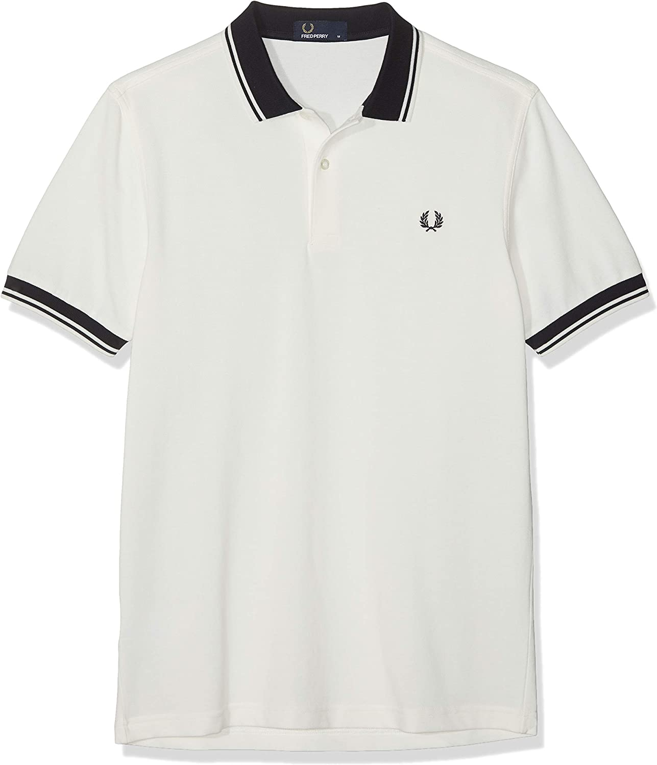 Fred Perry Contrast Rib Pique Shirt Polo para Hombre: Amazon.es ...