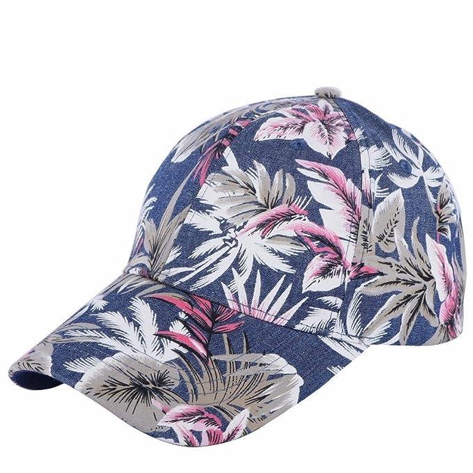Llxln 100% Algodón Hombres Mujeres Casual Gorra Sombrero Estilo Floral De Impresión Tamaño Adulto Chico Chica Belleza Caps: Amazon.es: Ropa y accesorios