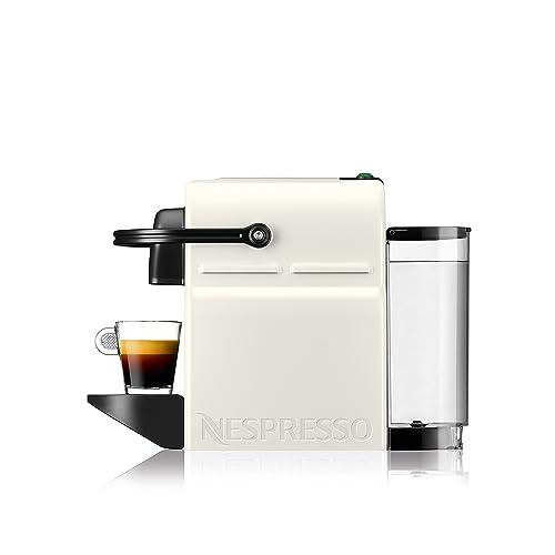 Nespresso Inissia Milk XN 1011 Cafetera de cápsulas 1260 W 0 7 L metal color blanco
