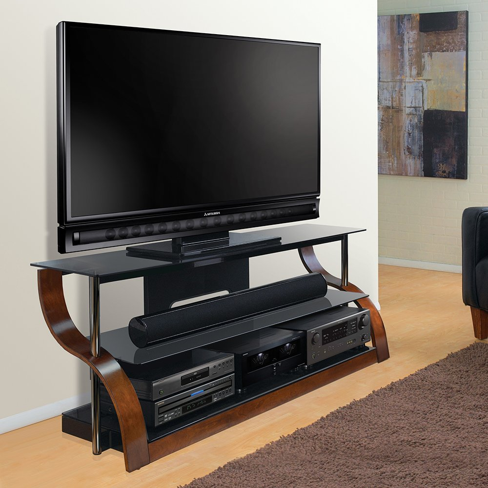 Amazon Com Bell O Cw342 65 Tv Stand For Tvs Up To 73 Espresso