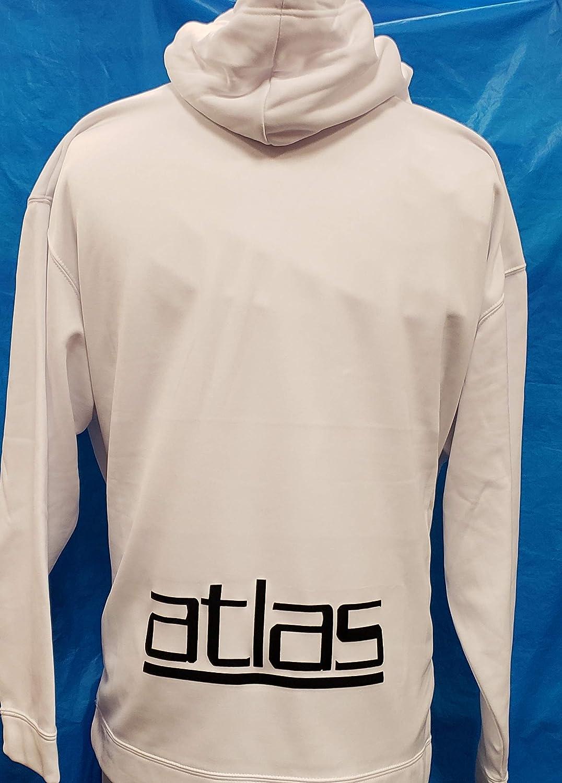 Rojinegros de Atlas Sudadera de Gorro Hoodie Size S : Sports & Outdoors