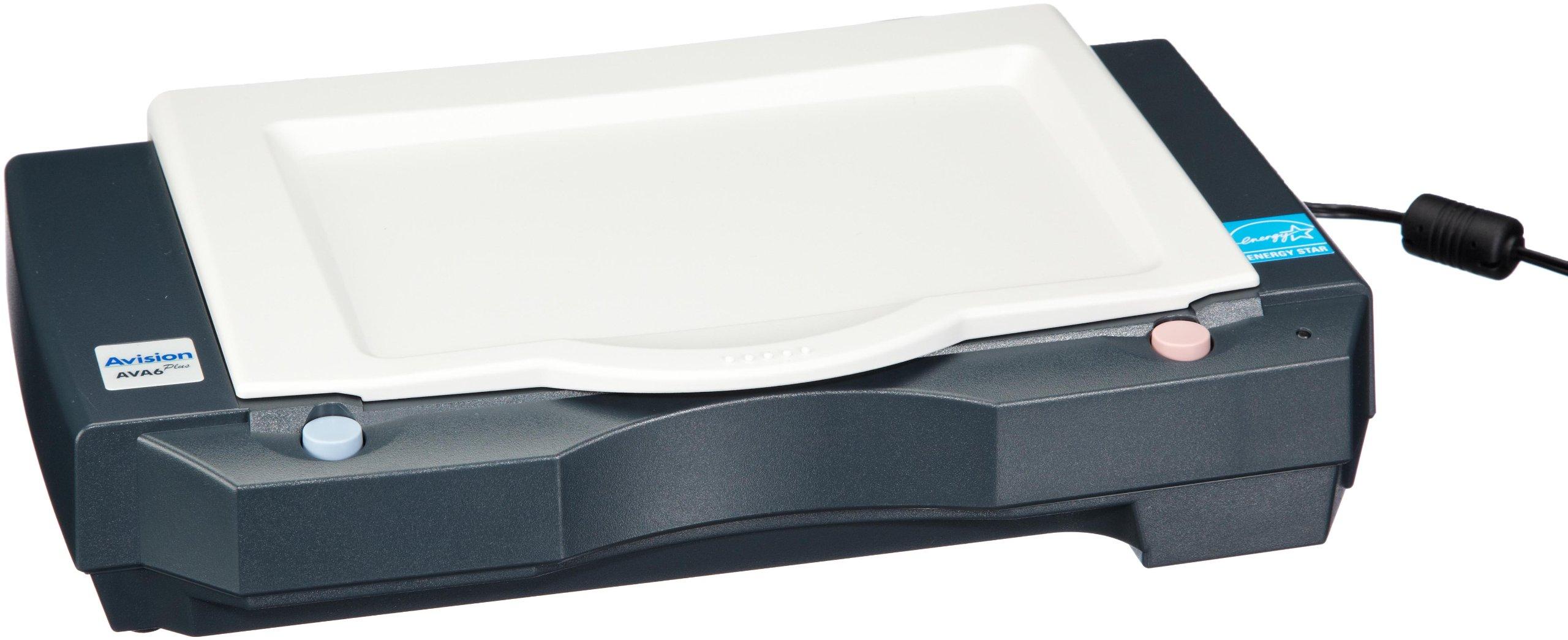 Avision AVA6+ Portable Flatbed Scanner