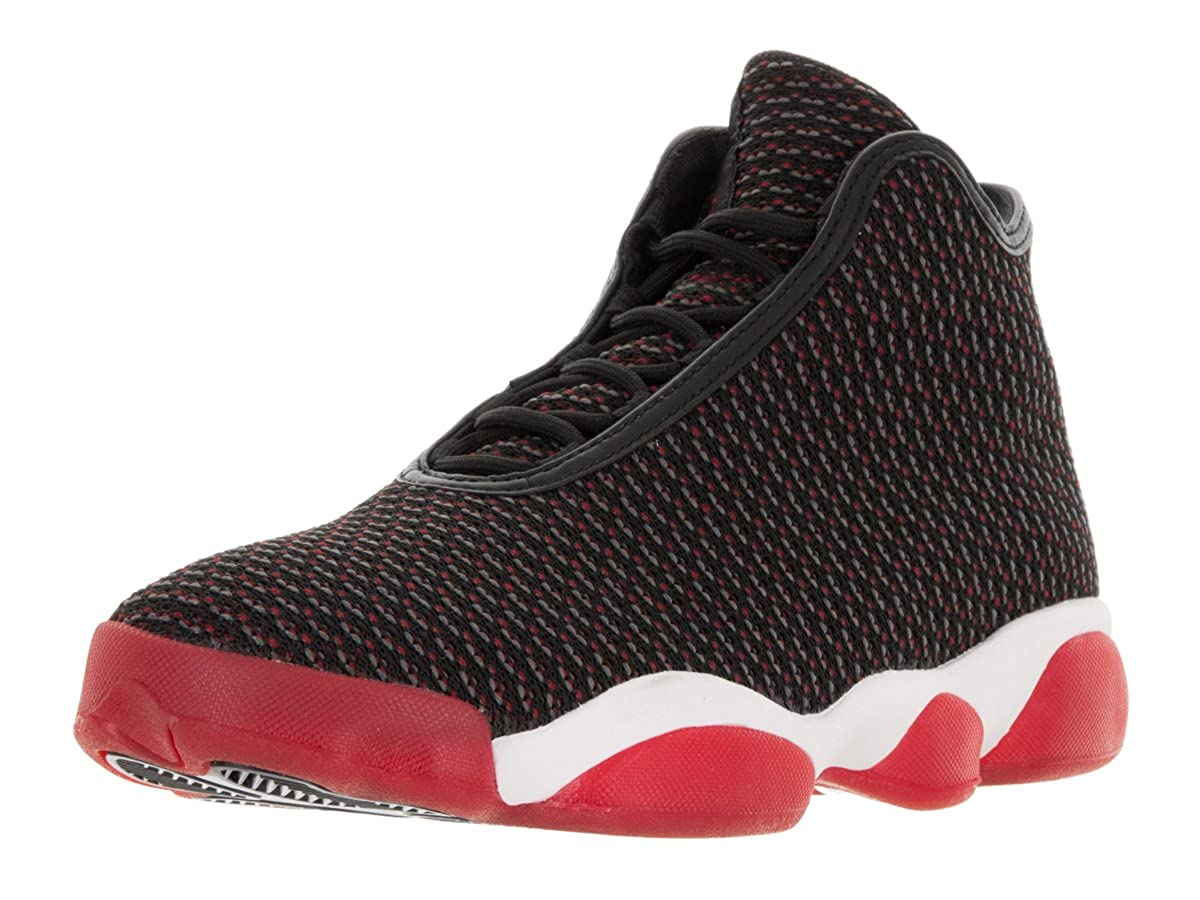 watch 19f1e ab4e3 Amazon.com   Nike Jordan Men s Jordan Horizon Black Gym Red Dark Grey White  Basketball Shoe 12 Men US   Basketball