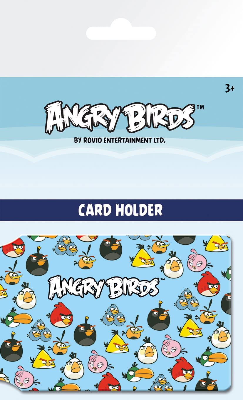 GB Eye LTD Porte Carte Angry Birds Pattern