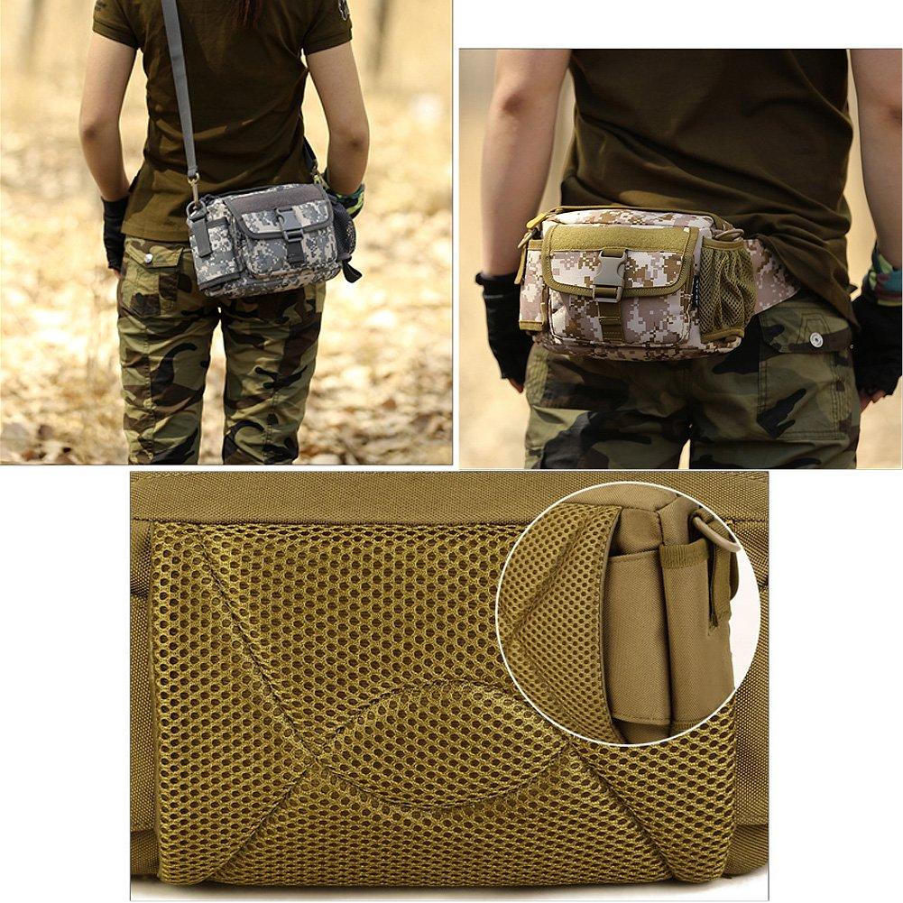 Amazon.com: Bolsa de cintura Pack con botella titular ...