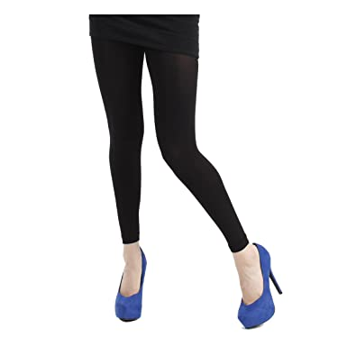 94d3f007ece1a Plus Size 200 Denier Black Opaque Footless Tights - UK Size 20 to 22:  Amazon.co.uk: Clothing