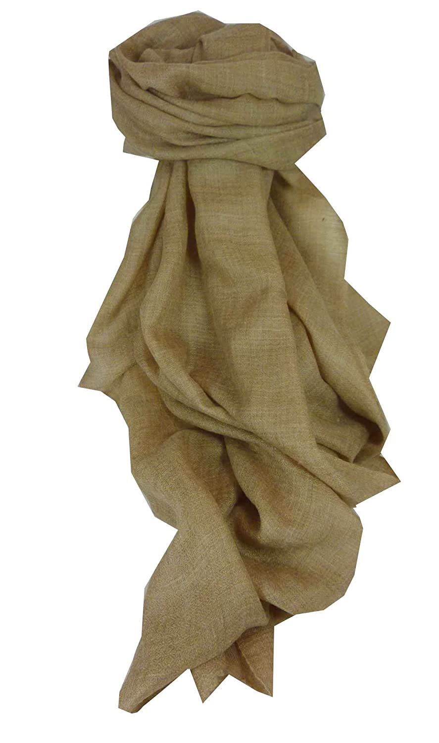 Pashmina Cashmere Luxury Ring Stole in Sable by Pashmina & Silk