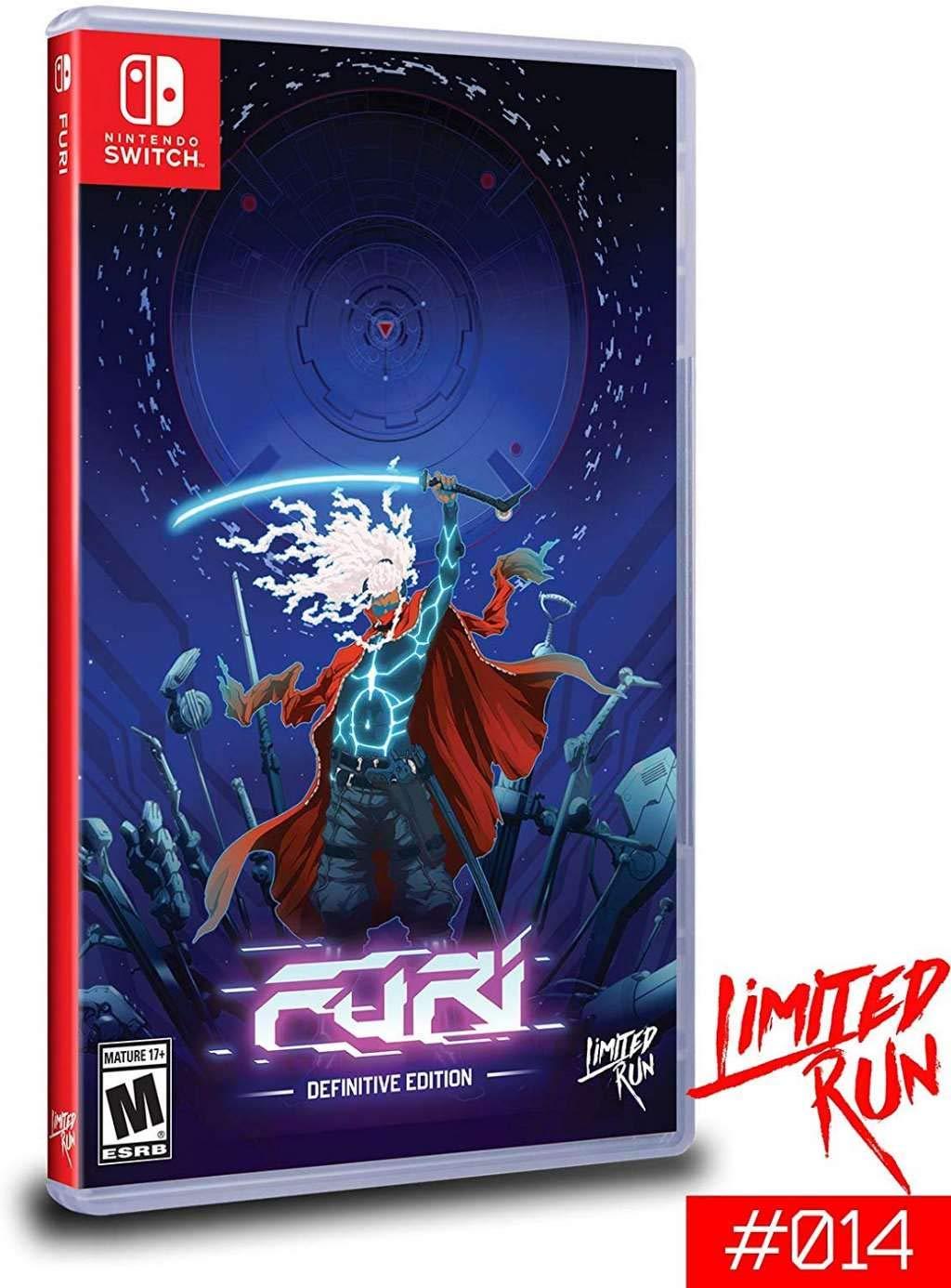 Amazon.com: Furi Definitive Edition (Switch Limited Run #14 ...