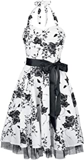Rockabella Kadia Dress Kurzes Kleid schwarz weiß  Amazon.de  Bekleidung ffeb749517