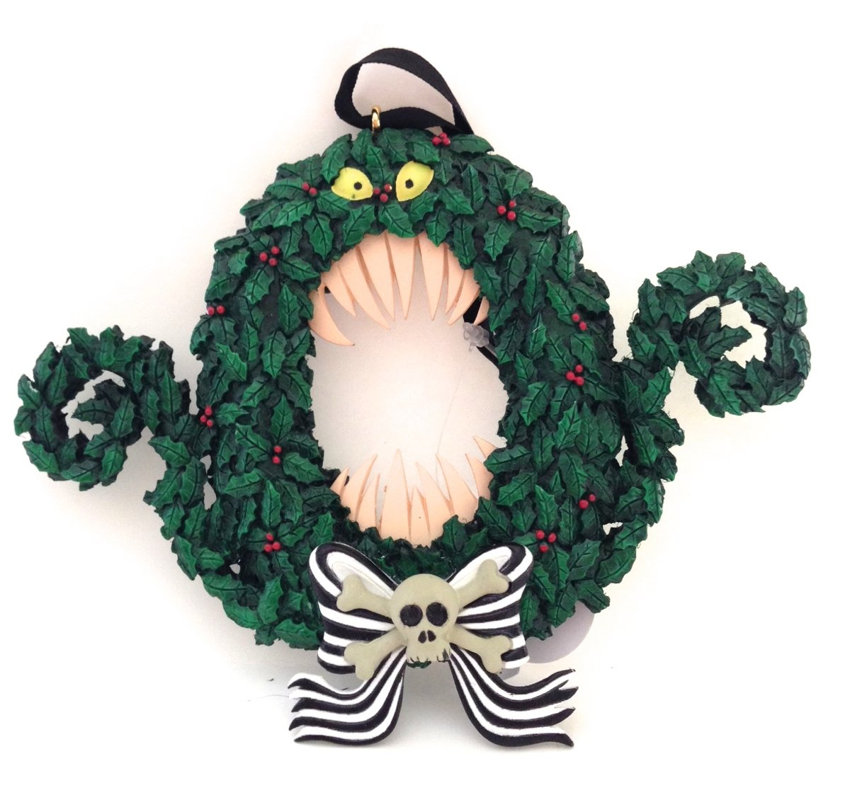 Amazon.com: Disney Park Nightmare Before Christmas Scary Wreath ...