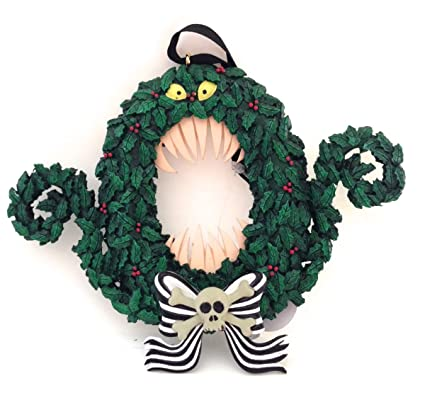 Disney Park Nightmare Before Christmas Scary Wreath Ornament