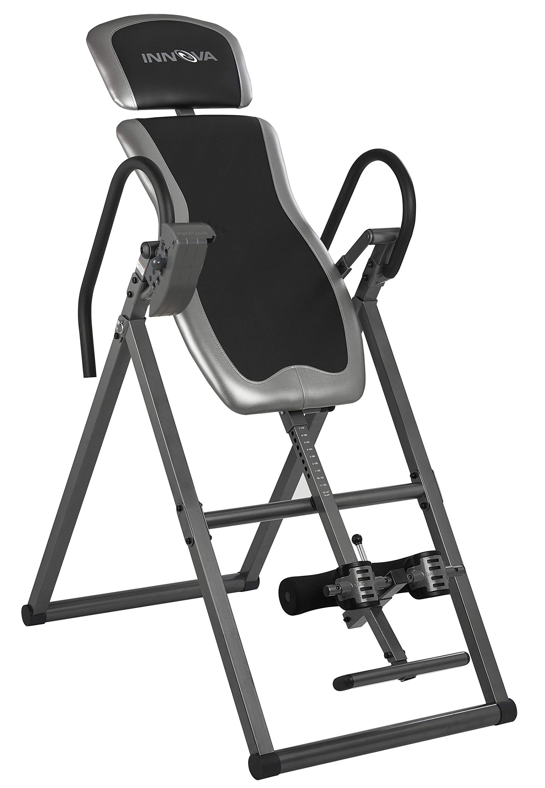 Innova ITX9600 Heavy Duty Inversion Table with Adjustable Headrest & Protective Cover (Renewed)