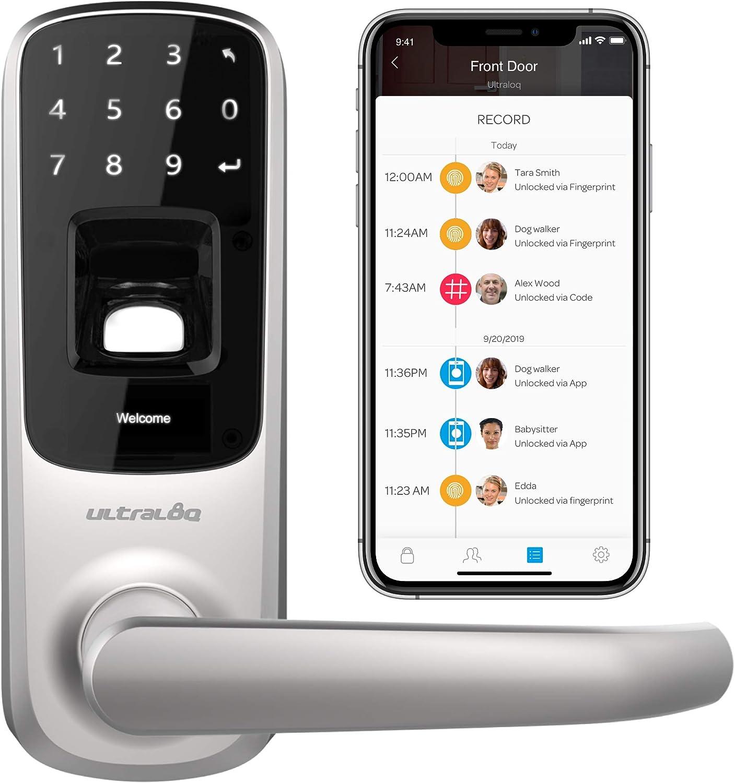 Cerradura Inteligente - Bluetooth, Huella y Pantalla Táctil