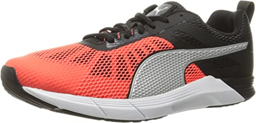 PUMA Men's Propel Cross Trainer Shoe, Red BlastPuma Black