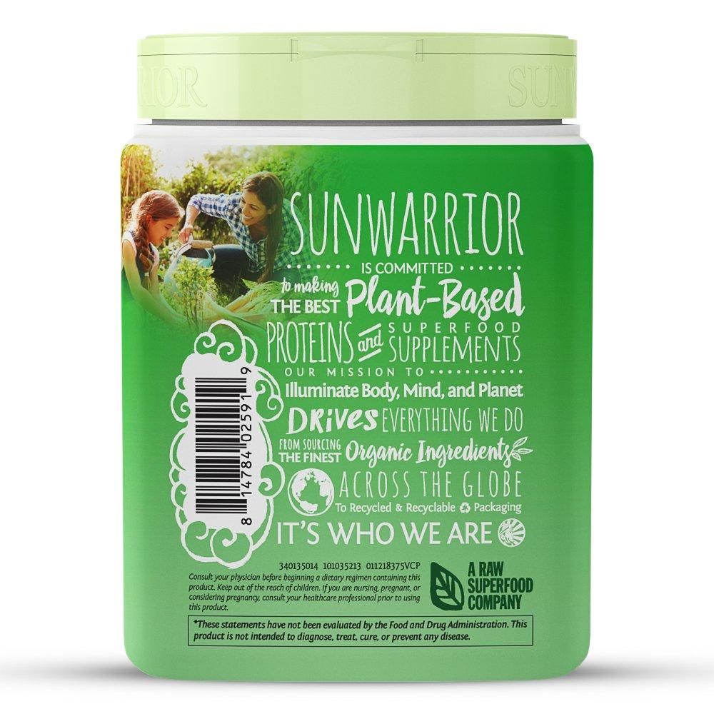 Amazon.com: SUNWARRIOR Organic Classic Vanilla Protein, 375 GR: Health & Personal Care