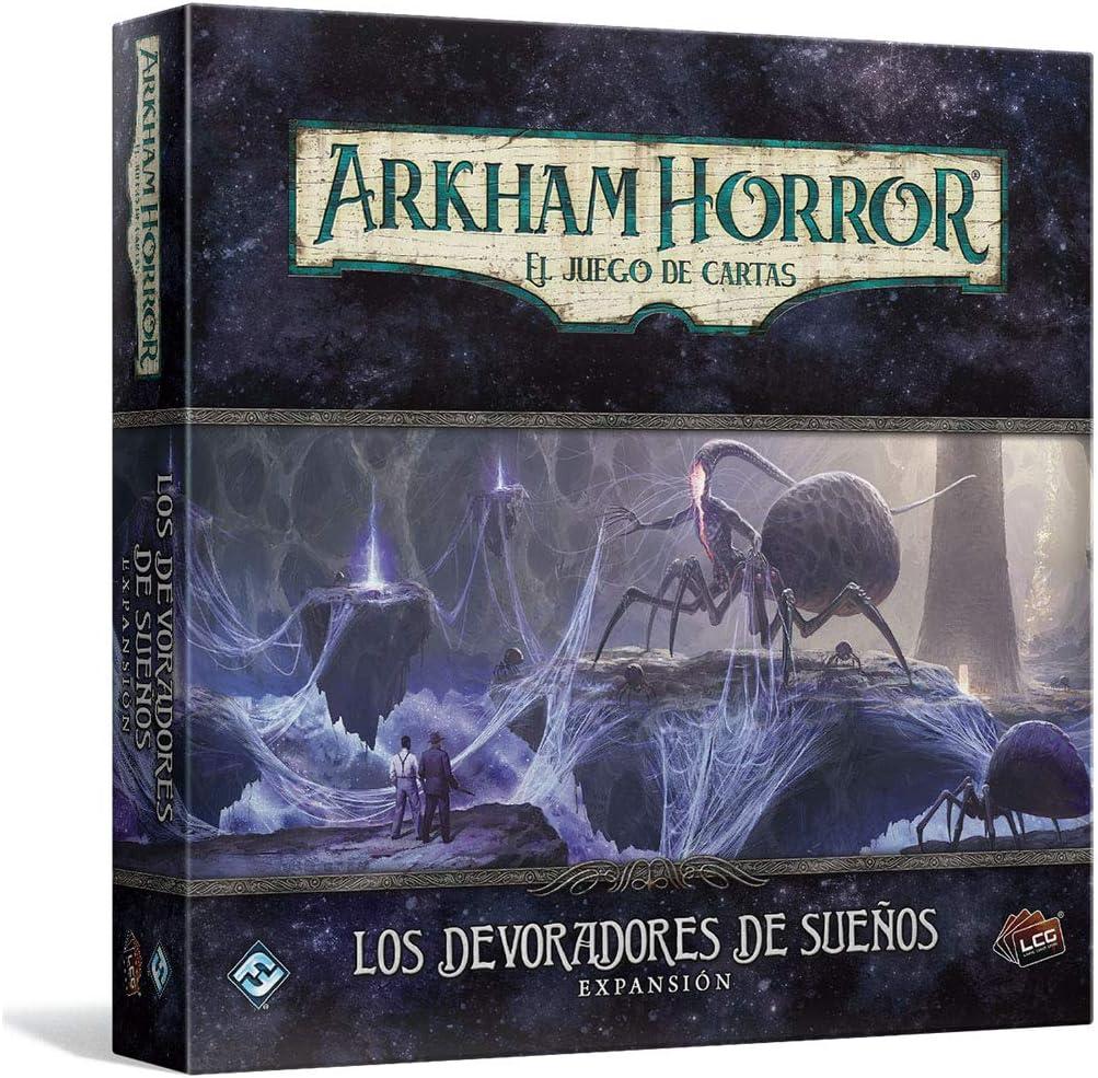 Fantasy Flight Games- Arkham Horror LCG - Los devoradores de sueños, Color (AHC37ES): Amazon.es: Juguetes y juegos