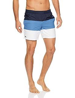 a9c275d09a280f Lacoste Men s Broken Lines Swim Short  Amazon.com.au  Fashion