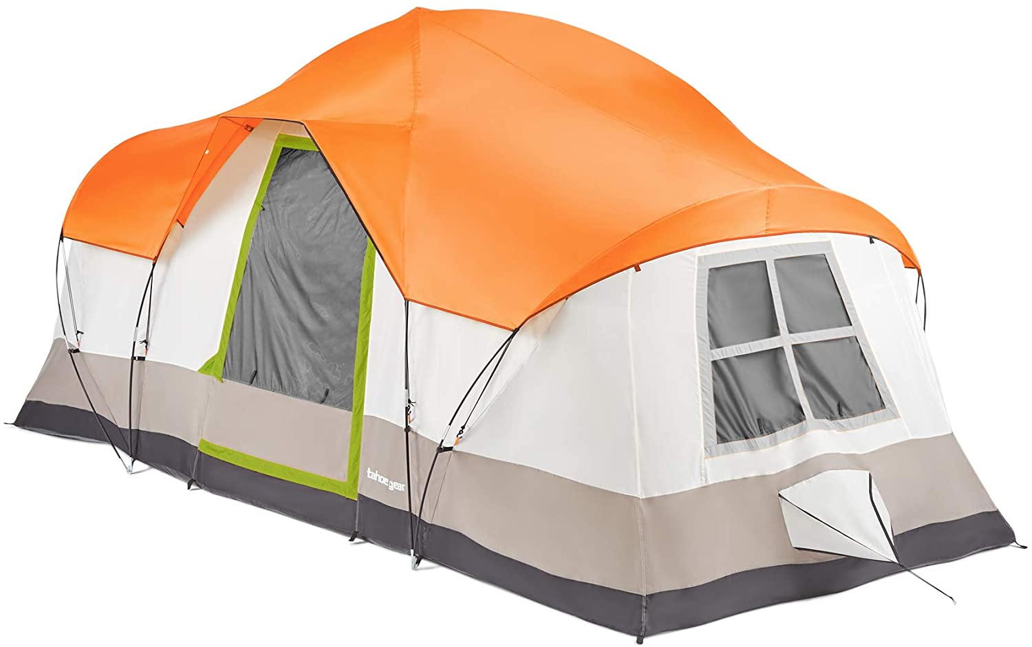 Tahoe Gear Olympia 10-Person Family Camping Tent