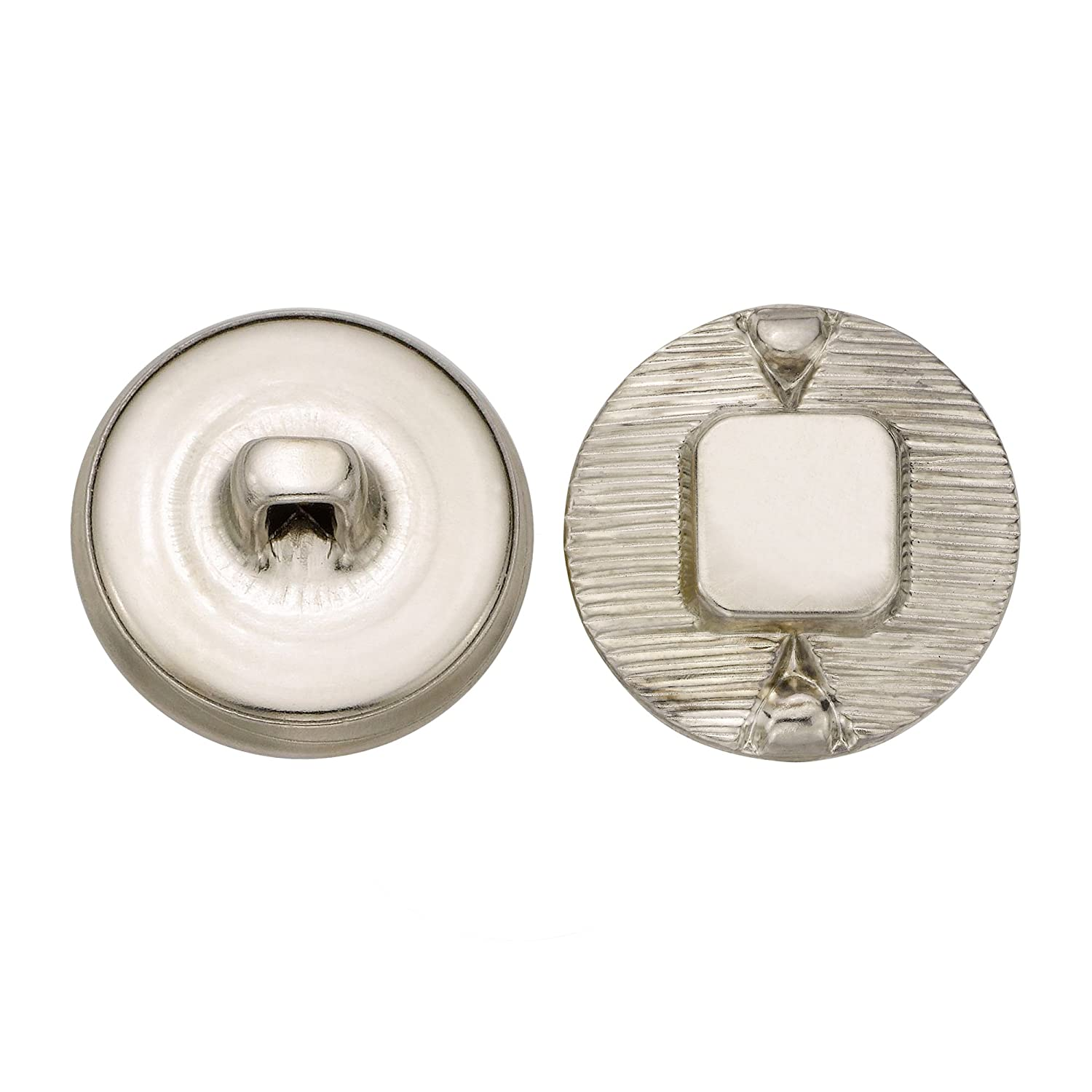 Nickel Size 30 Ligne 36-Pack C/&C Metal Products Corp C/&C Metal Products 5111 Modern Metal Button