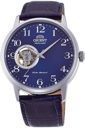 Orient Reloj Analógico para Hombre de Automático con Correa en Cuero RA-AG0011L10B: Amazon.es: Relojes