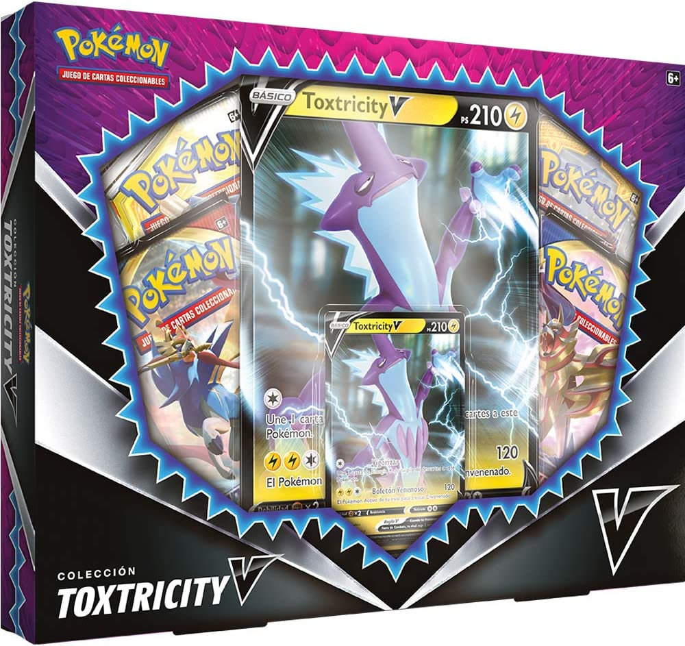 Pokemon- Caja Toxtricity V (Bandai PC35968): Amazon.es: Juguetes y ...