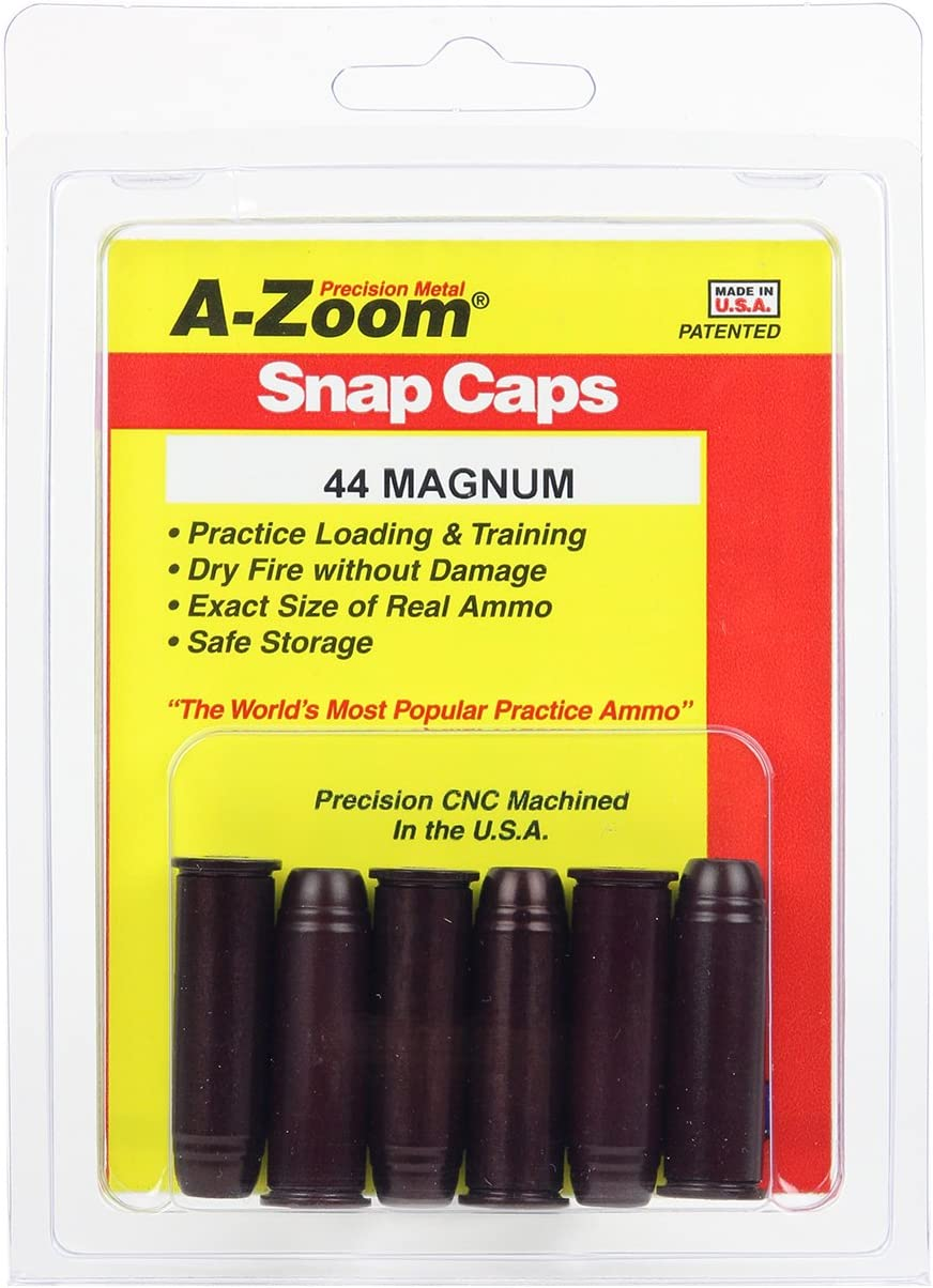 B000MITQ1Y A-Zoom 44 Magnum Snap Caps (6 Pieces) 719PtYvgJSL