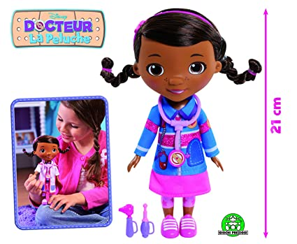 Amazon.com: Docteur la Peluche – 21 cm Doc Doll with ...
