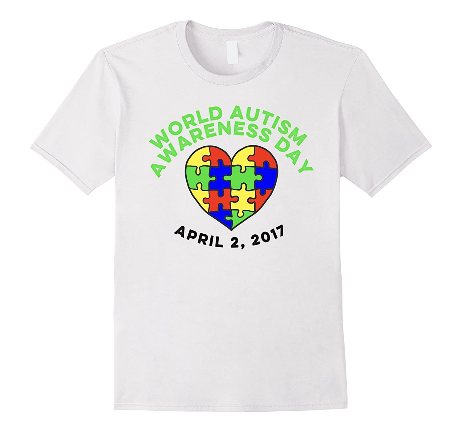455fc1d96 Autism Awareness Day Tees 2017 World Day T-Shirt-RT – Rateeshirt