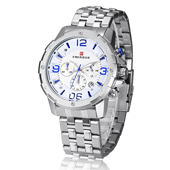 Amazon.com: Relojes, los hombres de negocios relojes de lujo ...
