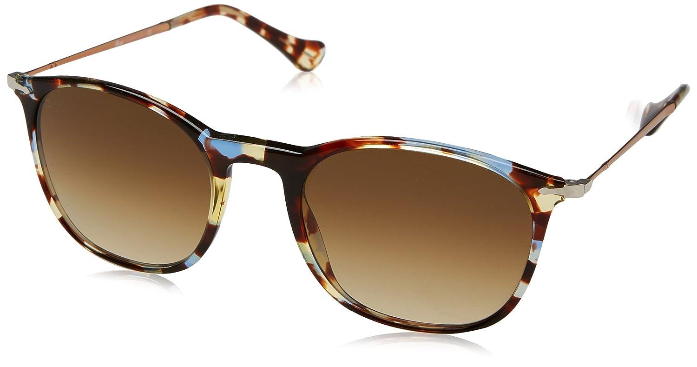 615c936533b92 Persol PO3124S 105851 Havana Azure-Brown PO3124S Square Sunglasses Lens  Categ at Amazon Men s Clothing store