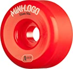 Roue de skate mini logo rouge