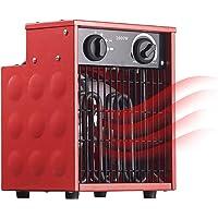 AGT Bauheizer: Profi-Industrie-Elektro-Heizlüfter mit 2.000 Watt und 2 Heizstufen (Bauheizlüfter)