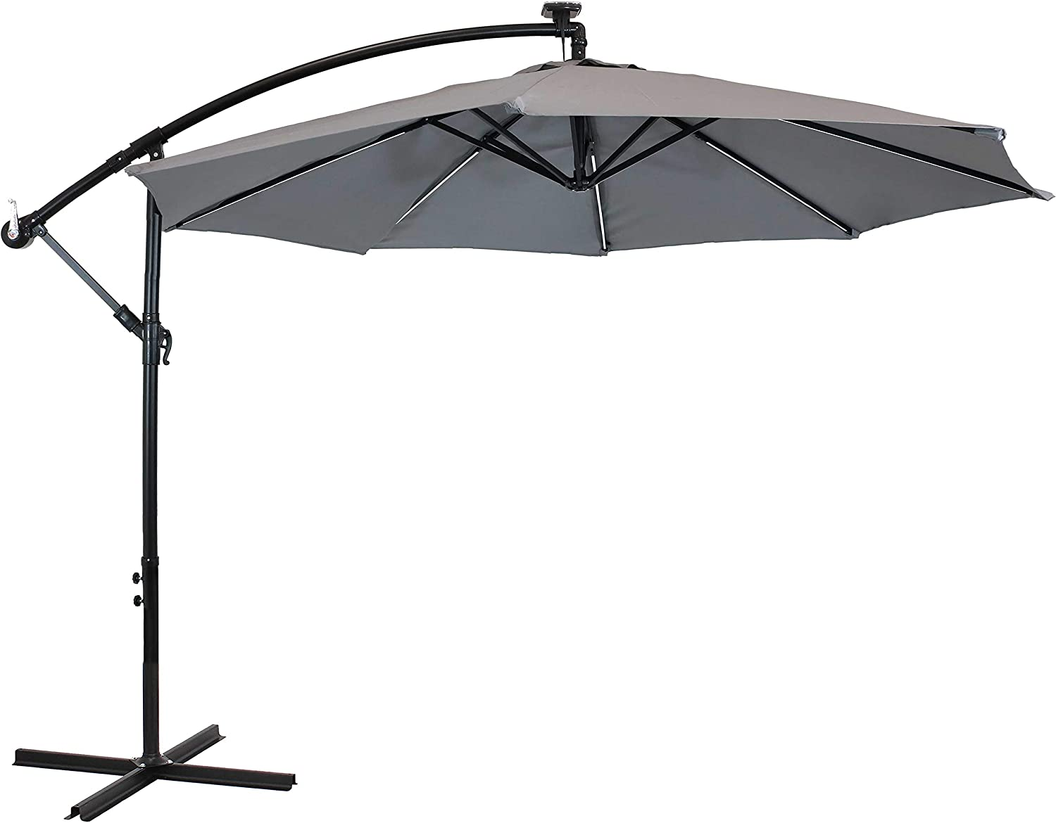 Sunnydaze Outdoor Cantilever Offset Patio Umbrella